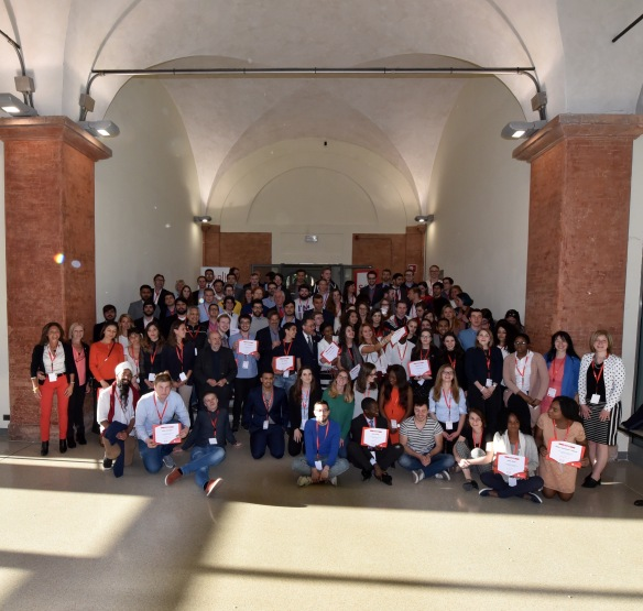 School of Democracy Reggio Emilia May 2017 graduation photo