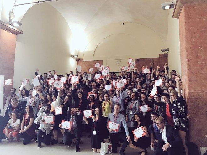 School of Democracy Graduation Photo May 2018